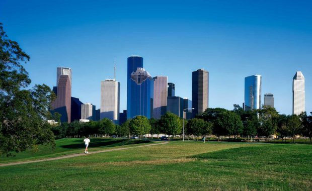 Oweyssi Law - Day view of the Houston, Texas cityscape.