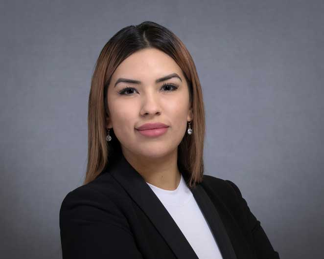 Profile image of Houston Law Firm team member Crystal Reyes.